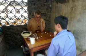 Playing go with Jiachen