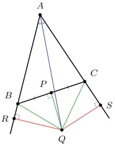 Isosceles triangle 2